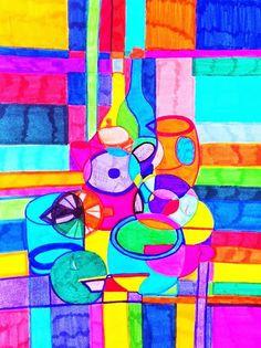 Arte con la prof: ELABORATI SUL CUBISMO