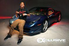 Ludacris set of Rich & Flexin Music Video in Rich Kids