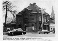 Hoogstraat, Buiten de Ring, 1971, Dijkmans Gestelse schoenfabrikant.