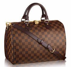 7e514f398388 Get the trendiest Cross Body Bag of the season! The Louis Vuitton Speedy B  30 Bandouliere Damier Ebene Canvas Cross Body Bag is a top 10 member  favorite on ...