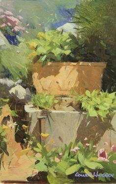 Colley Whisson Quot Perry And Bud Quot 8x5 Oil Birds Kuslar