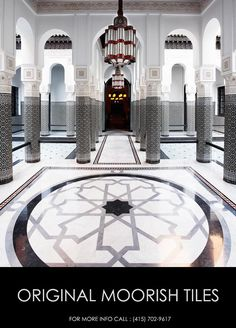 Moroccan Tiles Manufacturer Fez Morocco
