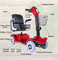 Mobility Scooter, Handicaped scooter