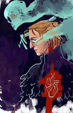 Anders and Justice http://officialdreadwolf.tumblr.com/tagged/dragon+age/page/3 ummmm that's pretty damn cool