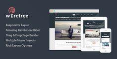 Wiretree - Responsive Corporate WordPress Theme - Business Corporate