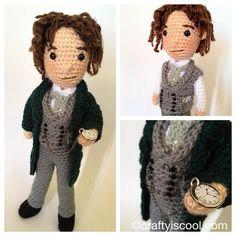 Eighth doctor! #doctorwho #crochet #amigurumi @realpaulmcgann by CraftyisCool1, via Flickr