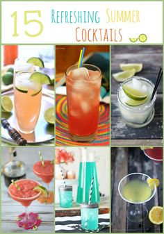 15 Refreshing Summer Cocktail Recipes | cookingwithcurls.com