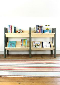 cool diy bookshelves