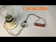 Hello friends, today in this video i have shown how to make a simple inverter using old cell phone charger transformer. Step-down transformer to High-voltage. Electronics Projects, Electronic Circuit Projects, Electronic Engineering, Diy Electronics, Home Electrical Wiring, Electrical Projects, Old Cell Phones, Step Down Transformer, Electronic Schematics