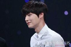 Sweet smile. Ahn Jae Hyun