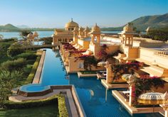 A Magnificent Luxury Hotel in India that Captures the Romance and Splendor of a Royal Era...  Oberoi Udaivilas, Udaipur, India
