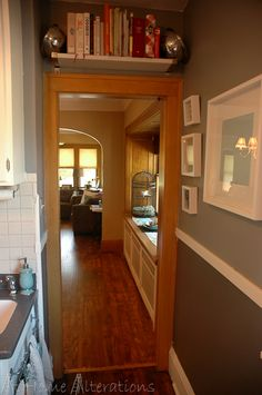 Stained Floor And Doors/trim And White Baseboards | Beautiful Designs For  The Home | Pinterest | White Baseboards, Door Trims And Baseboard