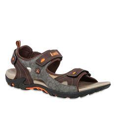 Love this Dark Brown Seahorse Sandal by kamik on #zulily! #zulilyfinds