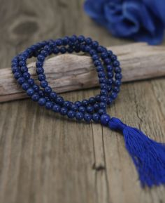 Stretchy mala beads perfect for meditation. Meditation supplies available at BuddhaGroove.com.