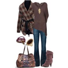 fall leaves - Polyvore