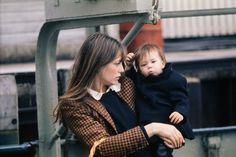 Jane Birkin and Charlotte Gainsbourg, 1971. Photo courtesy of Taschen.-Wmag