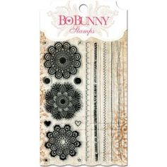 "BoBunny Stamps 4""X6"" - Stitches"