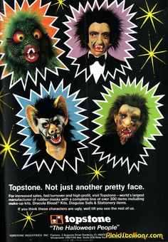 Let's kick off Halloween talking about Topstone shall we? Topstone started marking masks in the I mainly know them for their .