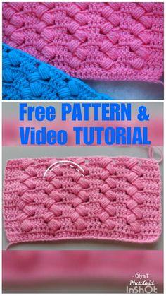 Crochet Stitches Patterns, Stitch Patterns, Knitting Patterns, Crochet Dishcloths Free Patterns, Free Crochet Flower Patterns, Hexagon Crochet Pattern, Dishcloth Crochet, Different Crochet Stitches, Tunisian Crochet Stitches