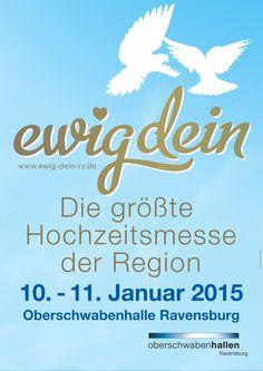 www.ewig-dein-rv.de  #hochzeit #ravensburg #messe #oberschwabenhalle #ja