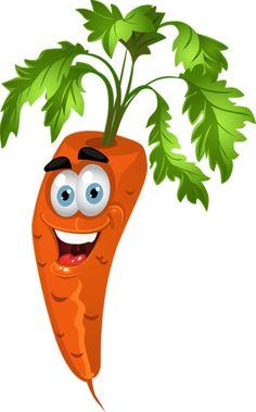 Légumes rigolos - Carotte