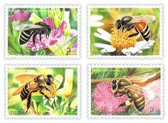 bees in philately - Buscar con Google