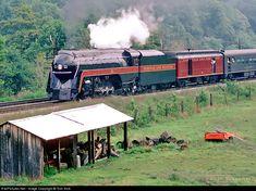 RailPictures.Net Photo: NW 611 Norfolk & Western Steam 4-8-4 at Glenvar, Virginia by Tom Sink