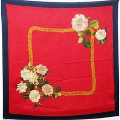 chanel,camelia,ruban,seidentuch,luxeoccasion,luxuryvintage,setasicarpa,chanelbufanda,silke,chanelsilkscarf