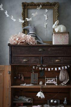 Baby Bedroom, Girls Bedroom, Bedroom Decor, Whimsical Bedroom, Casa Kids, Vintage Dollhouse, Deco Floral, Big Girl Rooms, Kids Corner
