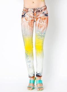 paint streaked jeans $58.95