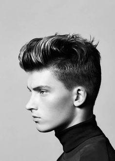 Pompadour Gelled Hairstyles For Men
