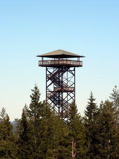 Observation Tower Simpsiö. Lapua Finland.