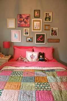 I need to try some big patchwork squares.  I love it!
