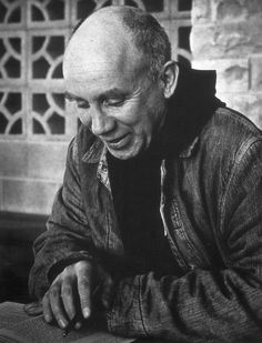 """""""If you want to identify me, ask me not where I live, or what I like to eat, or how I comb my hair, but ask me what I am living for, in detail, ask me what I think is keeping me from living fully for the thing I want to live for.""""--Thomas Merton"""