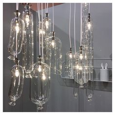 100% vegan  // SO-SAGE pendant lights by @sam__baron for @petitefrituredesign #MO16 #atable #glass #designfurniture #inspiredaily #flodeaupicks