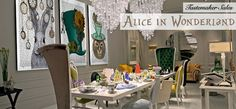 Alice in Wonderland: A Mad Hatters Tea Party | Be inspired. Discover a wide range of luxury furniture and homewares