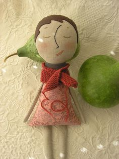 The Apple Gourd Pillow | Flickr - Photo Sharing!