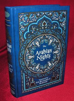 The Arabian Nights ~ New Leather Bound Collectible Edition ~ Illustrated Vintage Book Covers, Arabian Nights, Book Collection, Illustration, Books, Leather, Beautiful, Livros, Libros