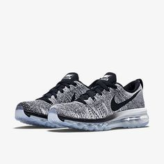 Nike Flyknit Air Max. Available Now. http://thesolesupplier.co.uk/products/nike-flyknit-air-max-wolf-grey/