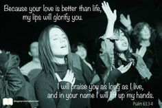 I will praise You and lift up my hands in Your name forever. Amen.