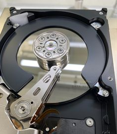 """Here is an example of a 3.5"""" Seagate drive that has severe media damage. How could this happen?  Torturing the drive and running software multiple times to recover the data.  Lets see how much data we are able to get back for our customer.  Data Recovery, Software, Times, Running, Keep Running, Why I Run"""