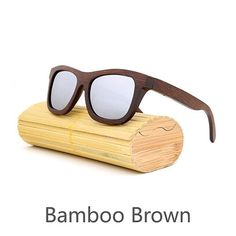 82542bca11629 New fashion Products Men Women Glass Bamboo Sunglasses au Retro Vintage Wood  Lens Wooden Frame Handmade
