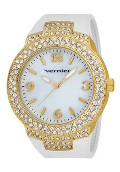 Vernier Women's VNR11073YGW Mother-Of-Pearl Dial Rubber Strap Quartz Watch Vernier, http://www.amazon.com/dp/B005EVMSQY/ref=cm_sw_r_pi_dp_PFH9qb05F4NJ4