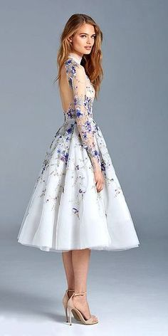 floral wedding dresses via paolo sebastian - Deer Pearl Flowers / http://www.deerpearlflowers.com/wedding-dress-inspiration/floral-wedding-dresses-via-paolo-sebastian/