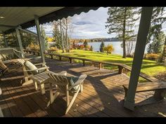 (23234) Lakefront Retreat in Whitefish, Montana - Sotheby's International Realty - YouTube