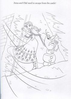 disney frozen coloring sheets | Official Frozen Illustrations (Coloring Pages) - Frozen Photo ...