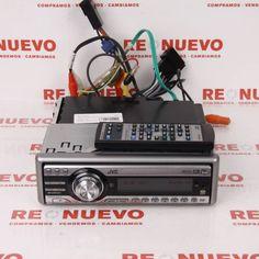 JVC KD-DV6101+mando#autorradio# de segunda mano#JVC