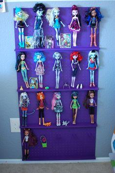 Barbie storage in playroom organization Pinterest Barbie