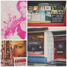Saxify goes Germany.. Spotted in PLATTENBAU, Aachen! http://www.susannealt.com/weblog/single-saxify-spotted-at-plattenbau-aachen/ #areyousaxified #seidihrsaxifiziert #saxify #funk #jazz #deutschland #germany #vinyl #plattenladen #recordshop #7inch