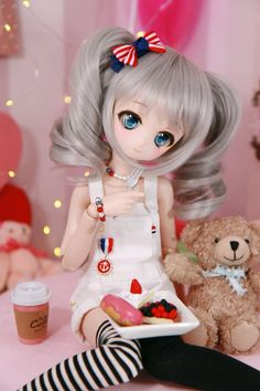 EQU【エク】 (@EQU_4) | Twitter Beautiful Barbie Dolls, Pretty Dolls, Anime Dolls, Blythe Dolls, Barbie Diorama, Kawaii Doll, Disney Princess Art, Pretty Anime Girl, Dream Doll